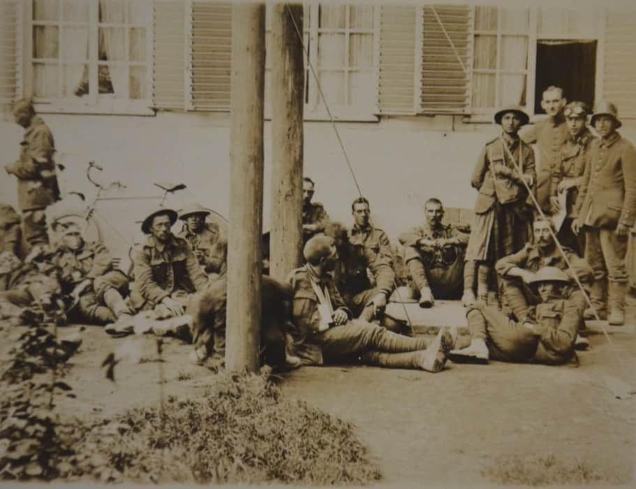 Kriegsgefangene Engländer und Schotten_HistoLog.de