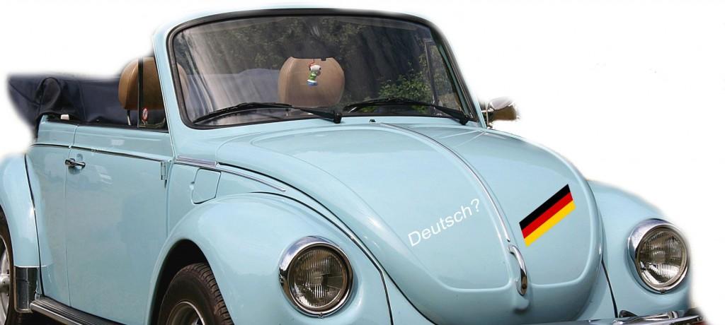 Ausschnitt: VW 1303 Cabriolet, Lothar Spurzem, Quelle: Wikipedia, Rechte: CC BY-SA 2.0 DE, bearbeitet.